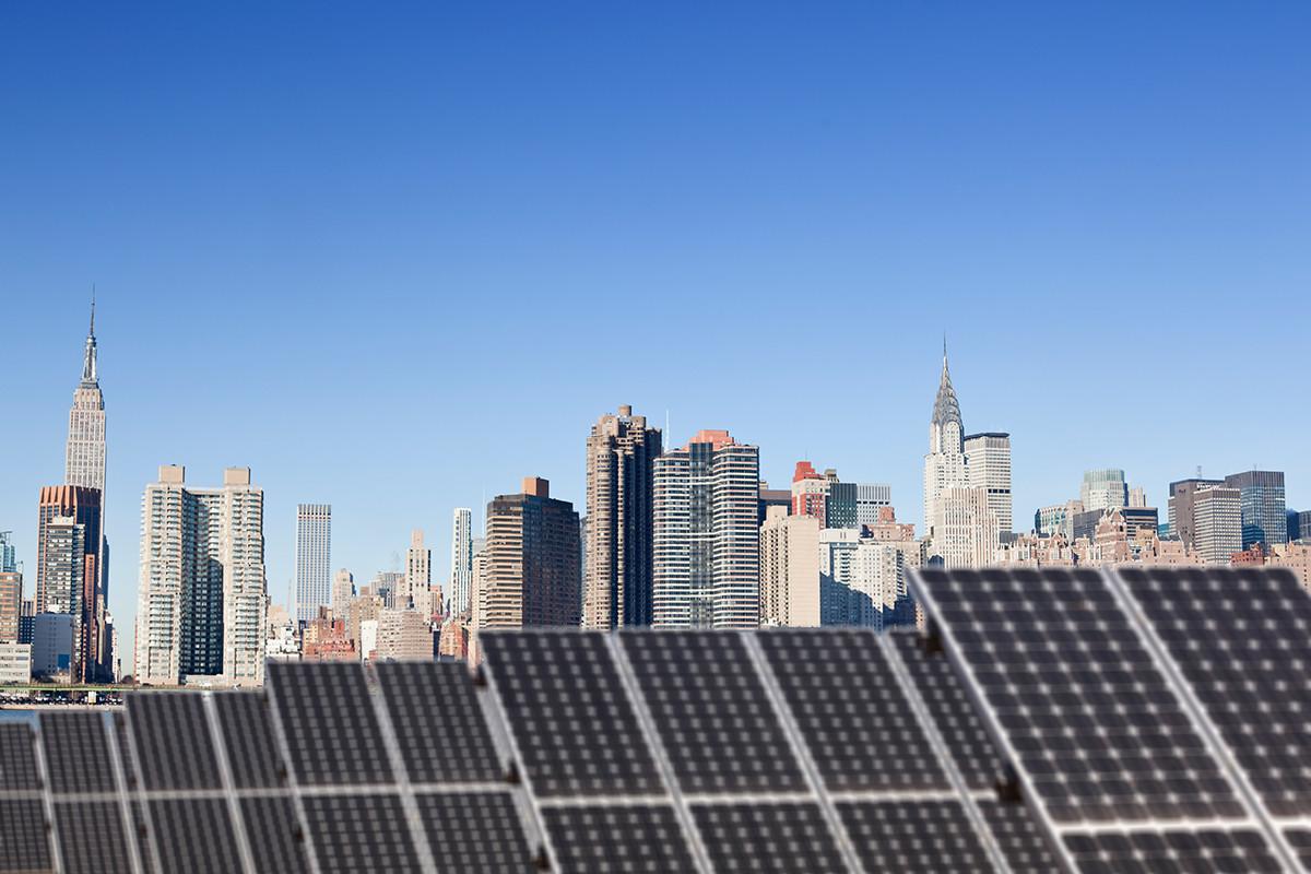 De Blasio Announces Community Solar Plan New York League