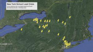 Lead In School Waters Map